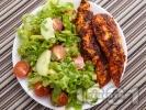 Рецепта Пилешки филенца с доматено пюре и розмарин